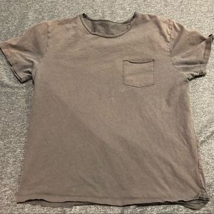 Lucky brand pocket t-shirt size large.
